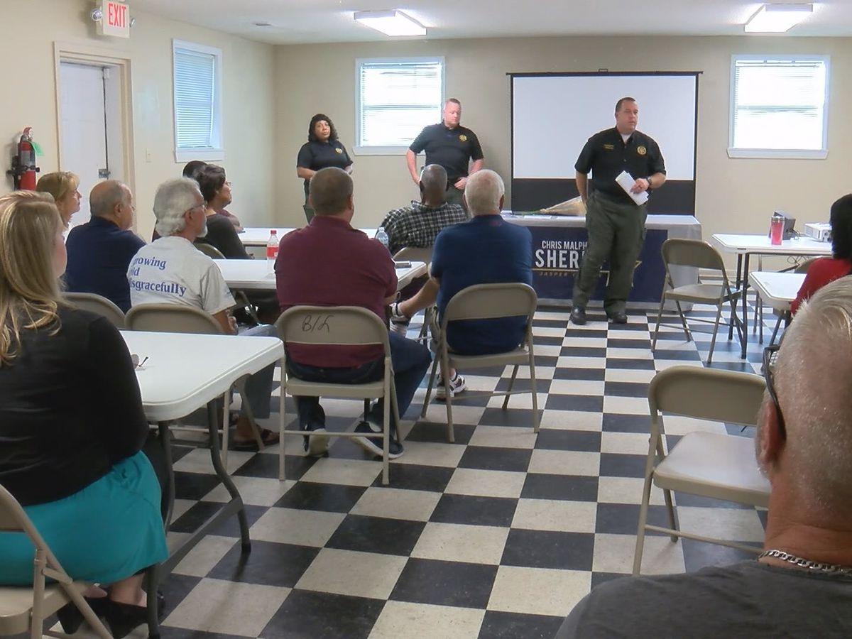 Rash of crime in Jasper Co. leads to community meeting