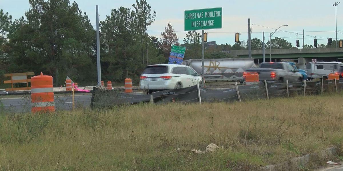 State Route 21 at I-95 road closure plan postponed