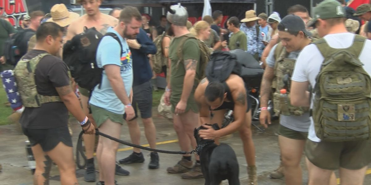 Local organization holds hike for veteran's issues