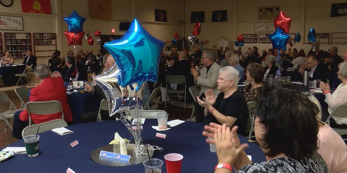 Chatham County veterans gather for annual banquet ahead of Veterans Day