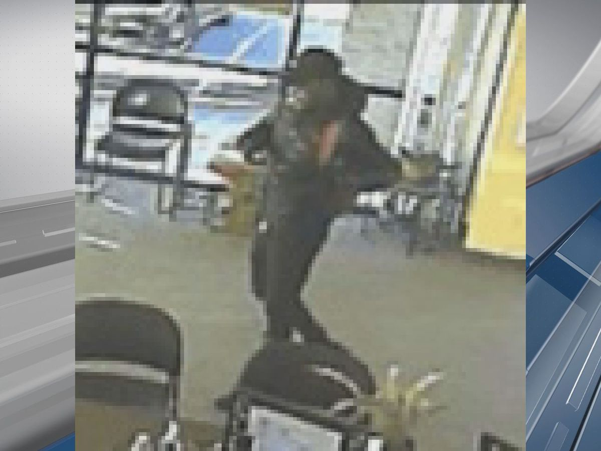Surveillance images released of suspect in Rincon armed robbery