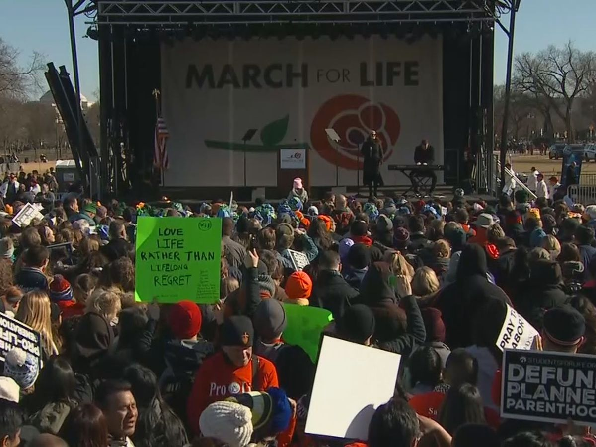 Thousands descend on Washington for 2019 March for Life