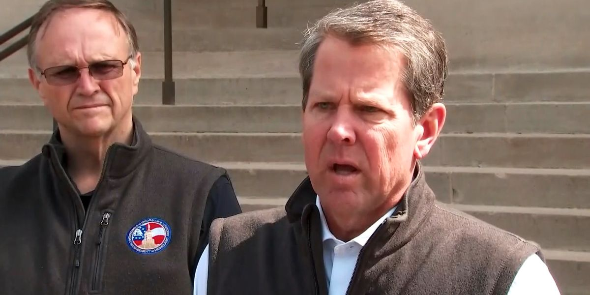 Gov. Kemp declares state of emergency for 3 southwest Ga. counties