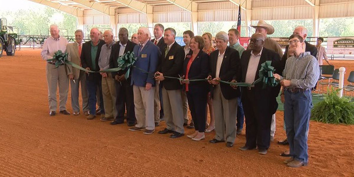 Statesboro's Agriculture Arena officially opens