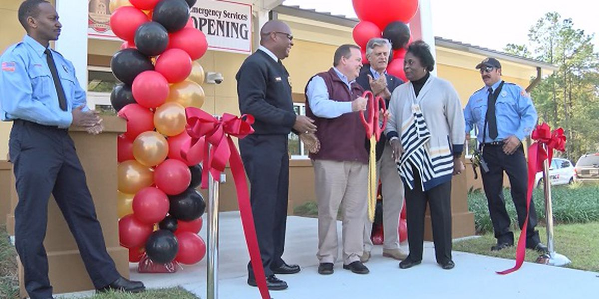 Savannah Fire opens new Sweetwater Fire Station