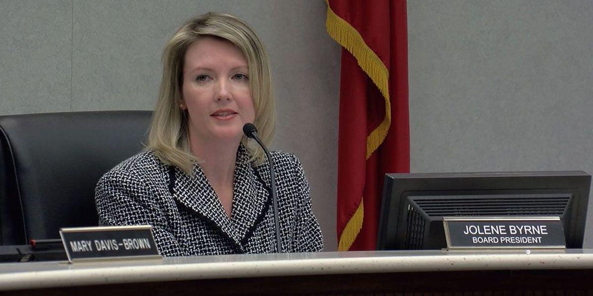 SCCPSS board president not seeking second term