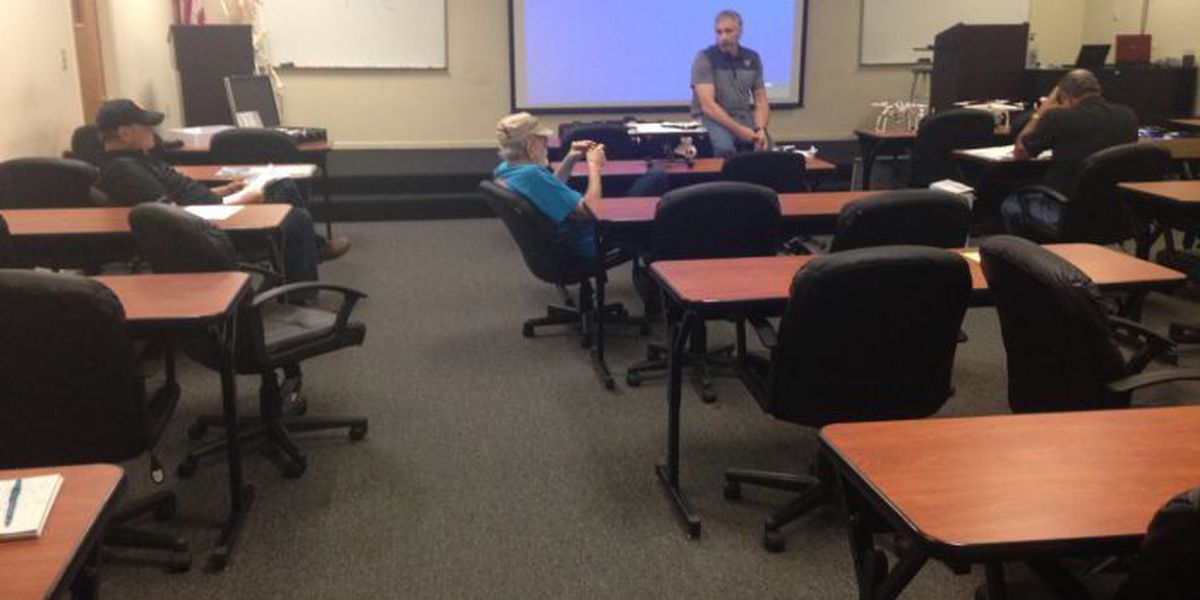 Drone safety workshop helps residents understand dangers and requirements