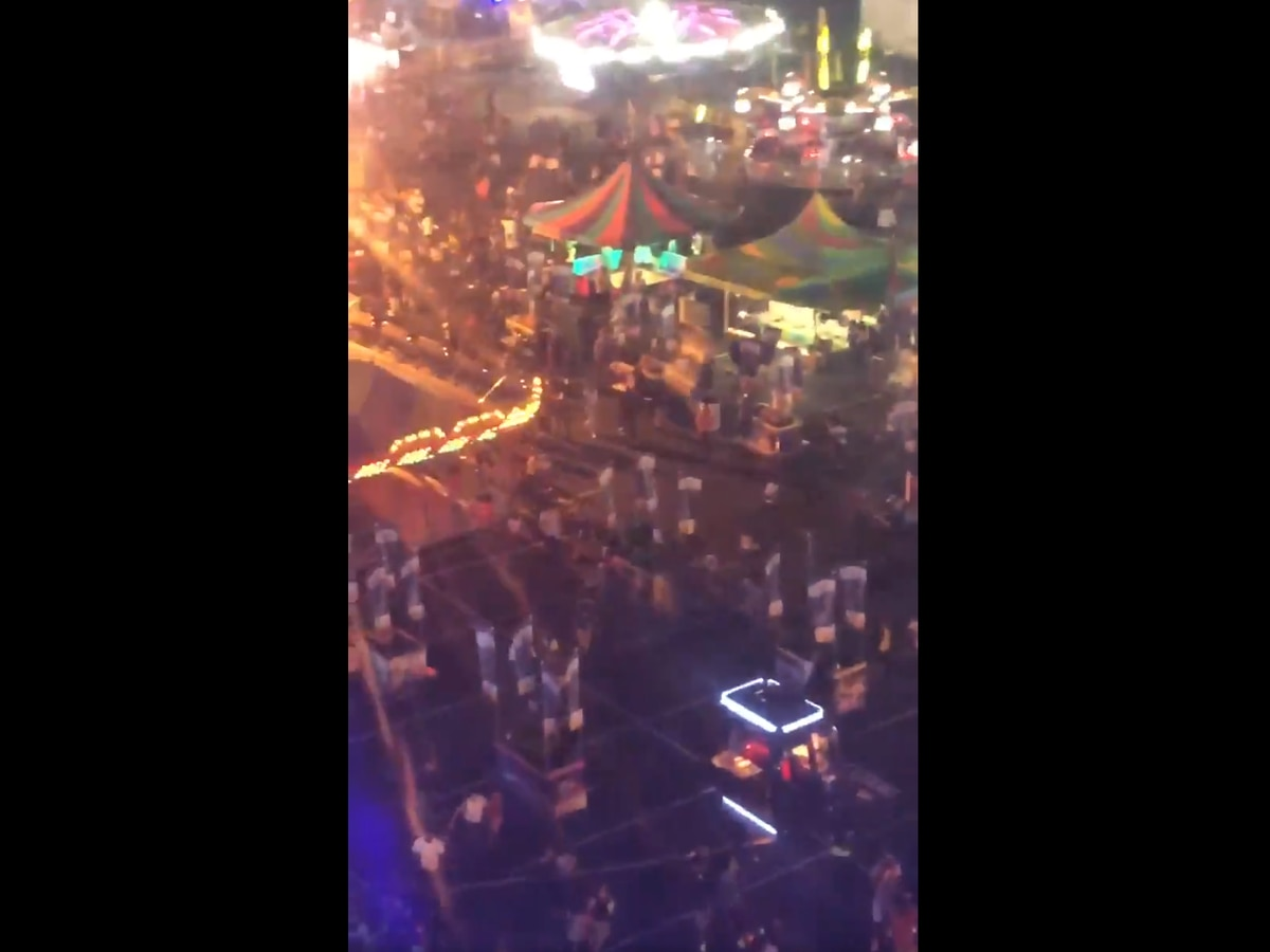 Juvenile arrested in connection to fight at fair prior to panic