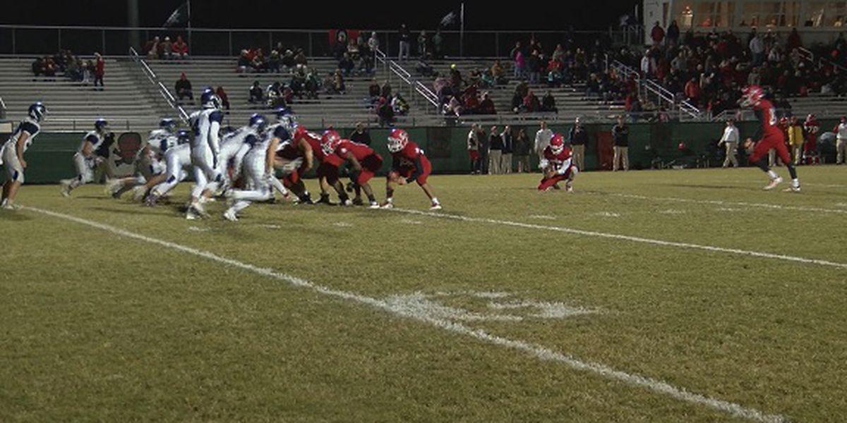 High school football playoff scores for Friday, Nov. 23