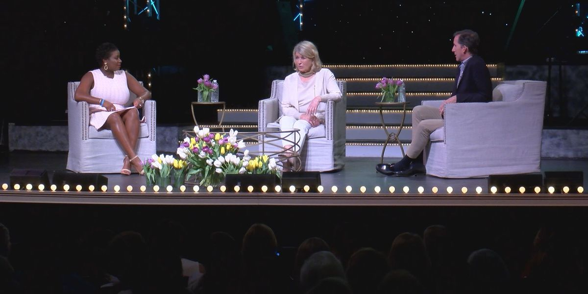 "Telfair Museums hosts ""An Afternoon with Martha Stewart"""