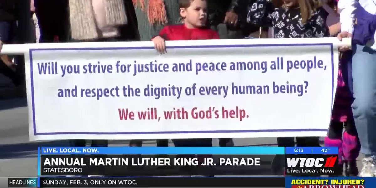 Annual MLK Jr. Parade held in Bulloch County
