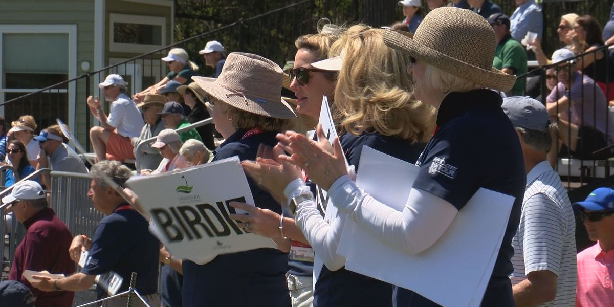 """Schooner Squad"" a staple on hole 5 at Savannah Golf Championship"