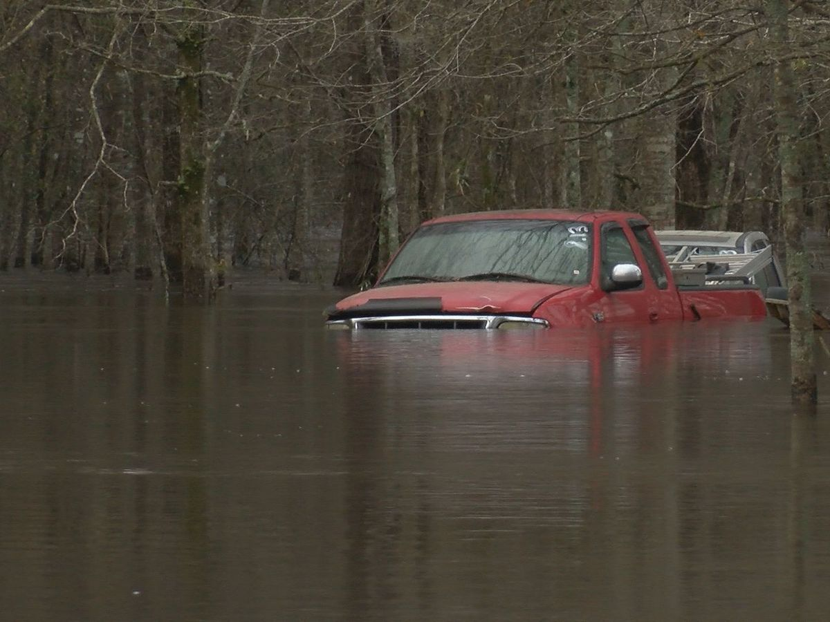 Effingham, Bulloch, Montgomery counties dealing with flooding