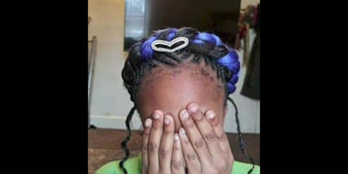 Mom says 9-year-old suspended for hair color