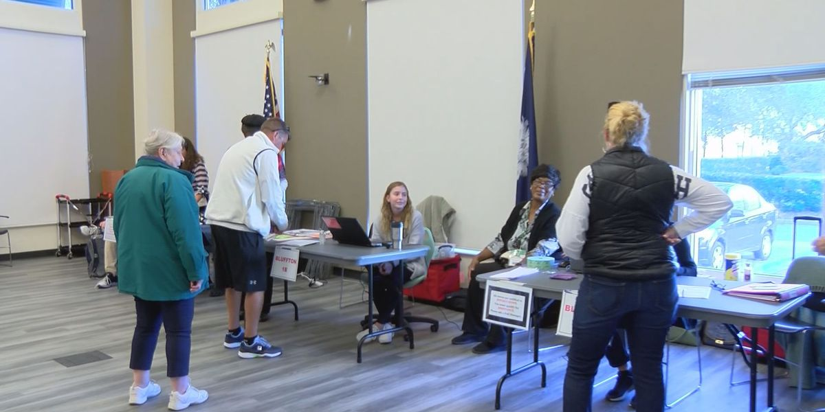 Beaufort Co. sees good turnout for Presidential Primary