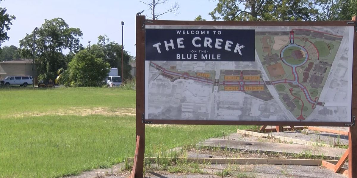 'Blue Mile' creek project moving along, construction still a long way off