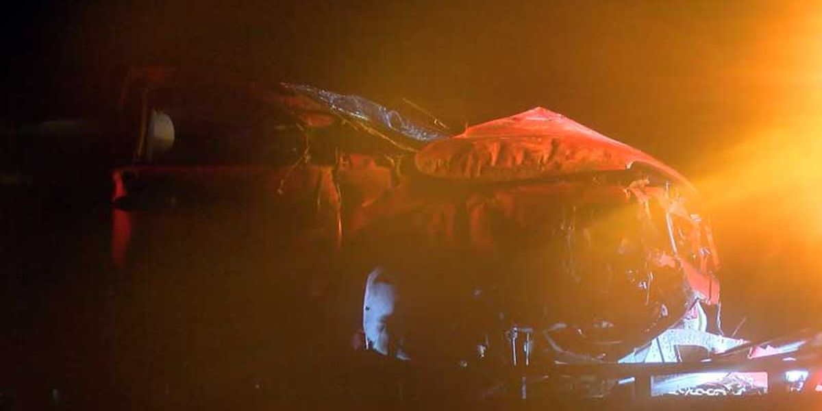 3 vehicles collide overnight on I-95 near I-16