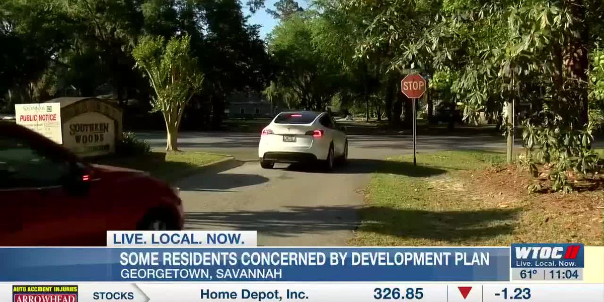Some residents concerned by development plan in Georgetown