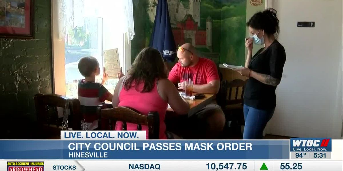 City of Hinesville approves emergency mask mandate