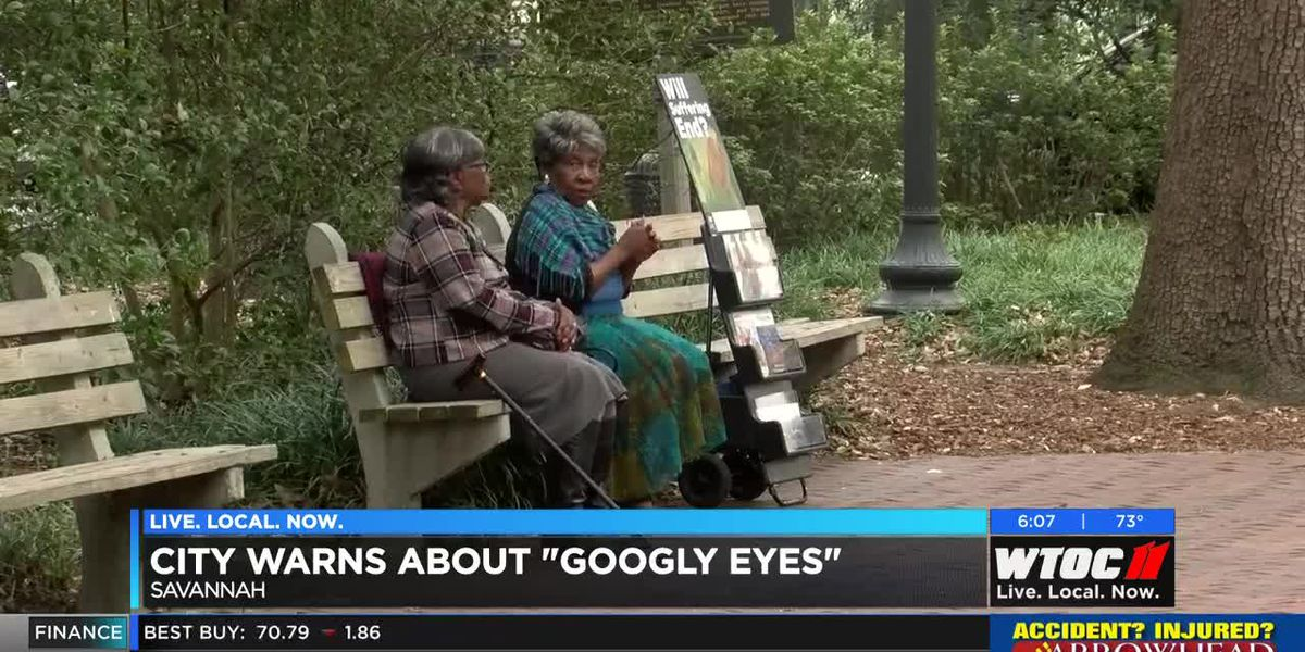 City of Savannah warning against pranks after 'googly eyes' incident
