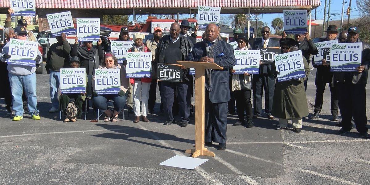 Chatham Co. Commissioner Ellis announces bid for chairman position