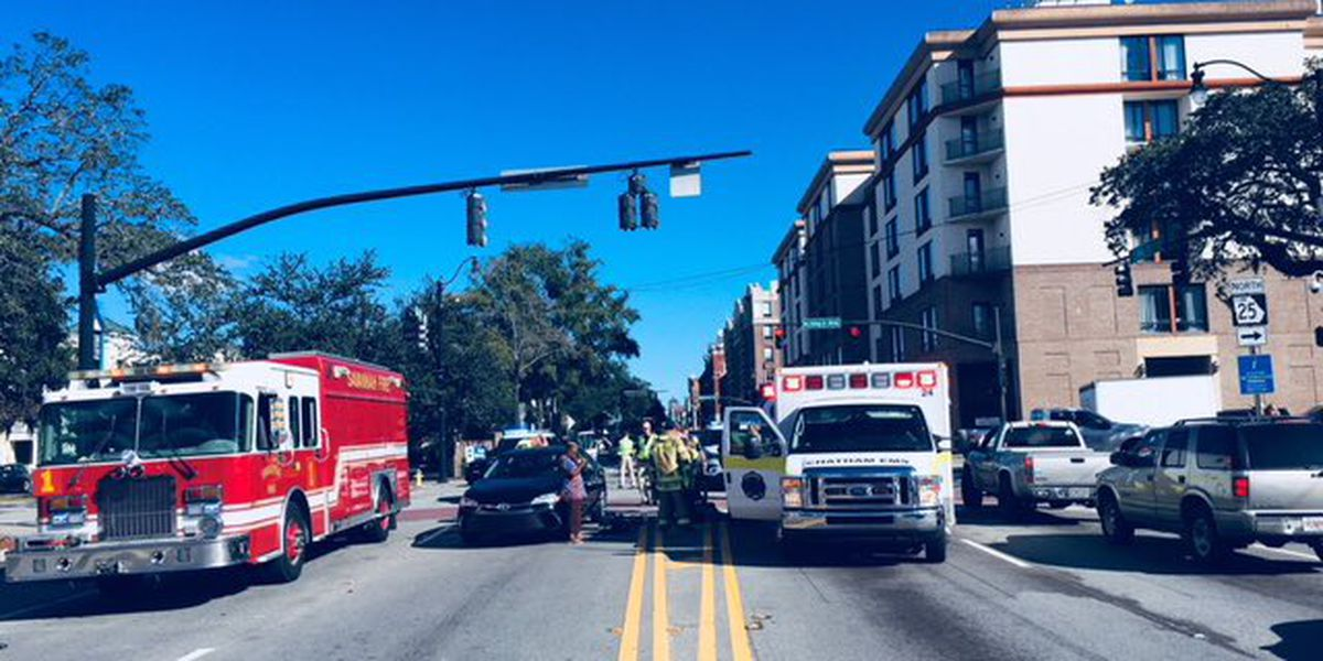 Intersection of MLK, Bay St. closed following pedestrian-involved wreck