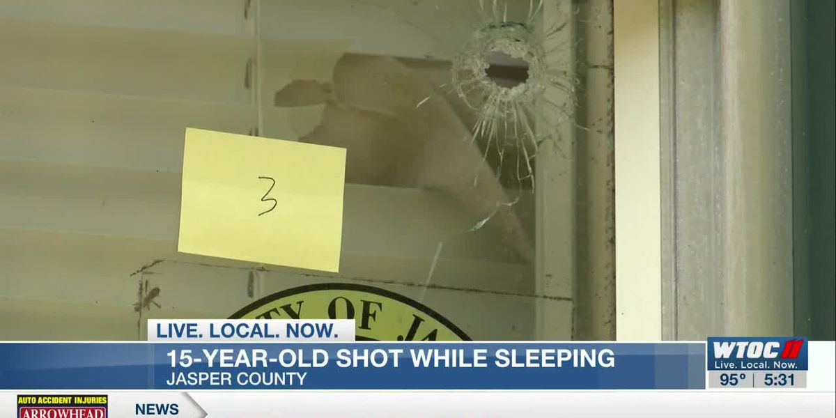 15-year-old hit during drive-by shooting at Jasper Co. home
