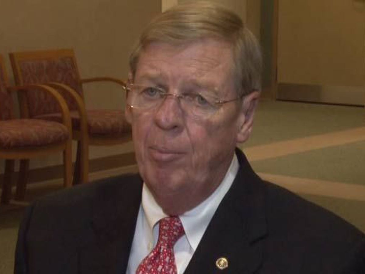 Georgia senator released from hospital