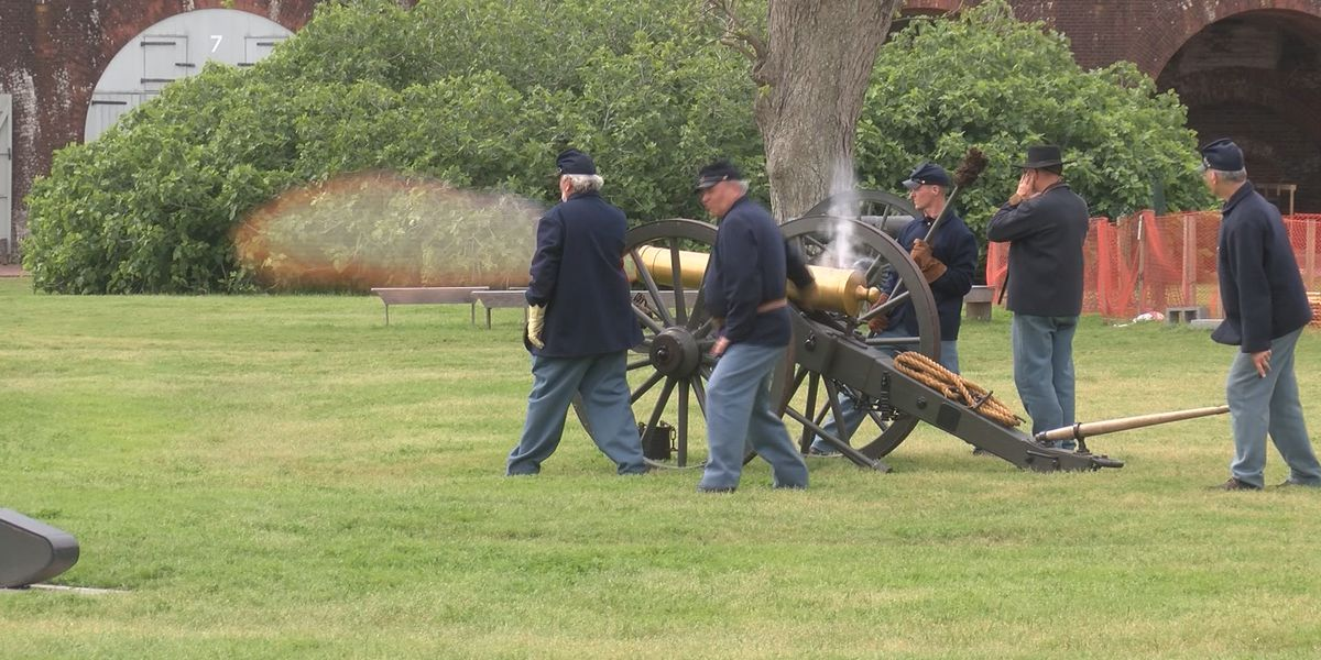 Fort Pulaski remembers battle of 1862 with 'living history' event