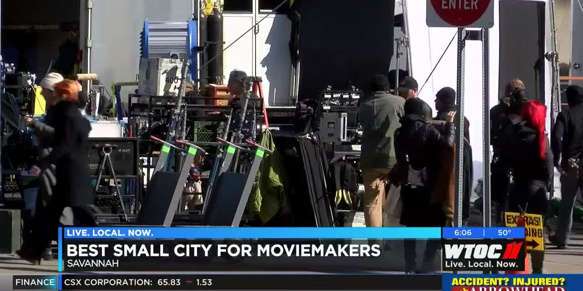 Savannah named best small city for moviemakers
