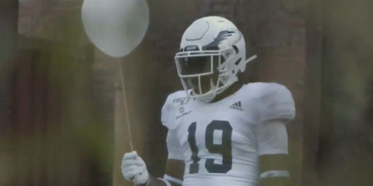 Eagles reveal alternate helmets with It-inspired video