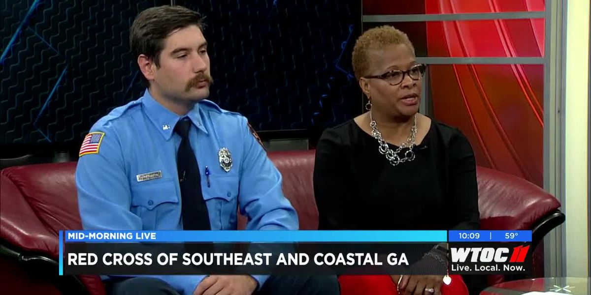 Red Cross of Southeast and Coastal Georgia will be giving away free smoke alarms
