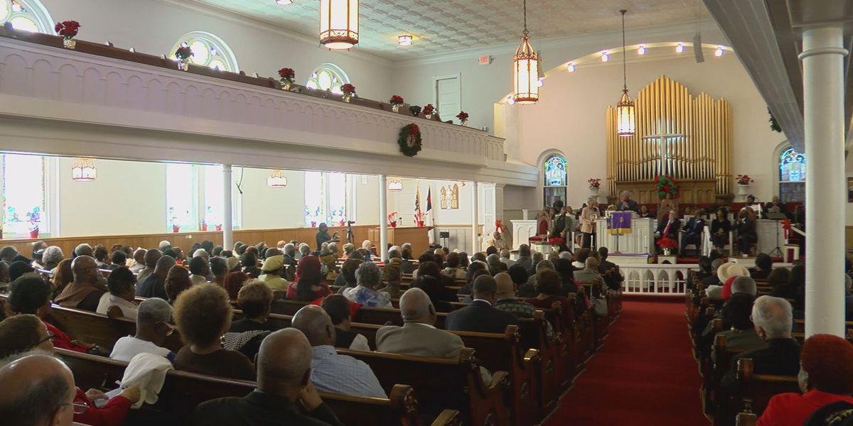 Emancipation Proclamation celebration at St. Philip AME Church