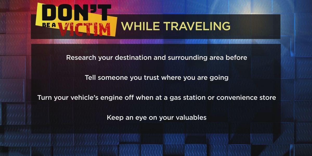 Don't be a Victim while traveling