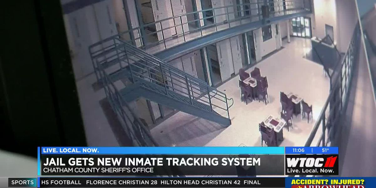 Chatham County Jail gets new inmate tracking system
