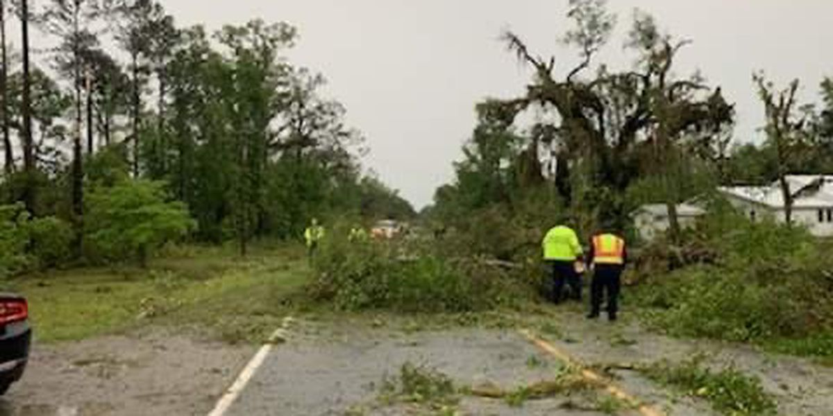 Cleanup continues in Liberty Co. after EF-1 tornado hit Monday