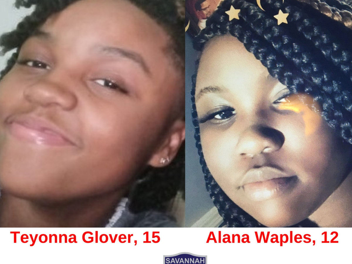 Savannah Police searching for two missing girls