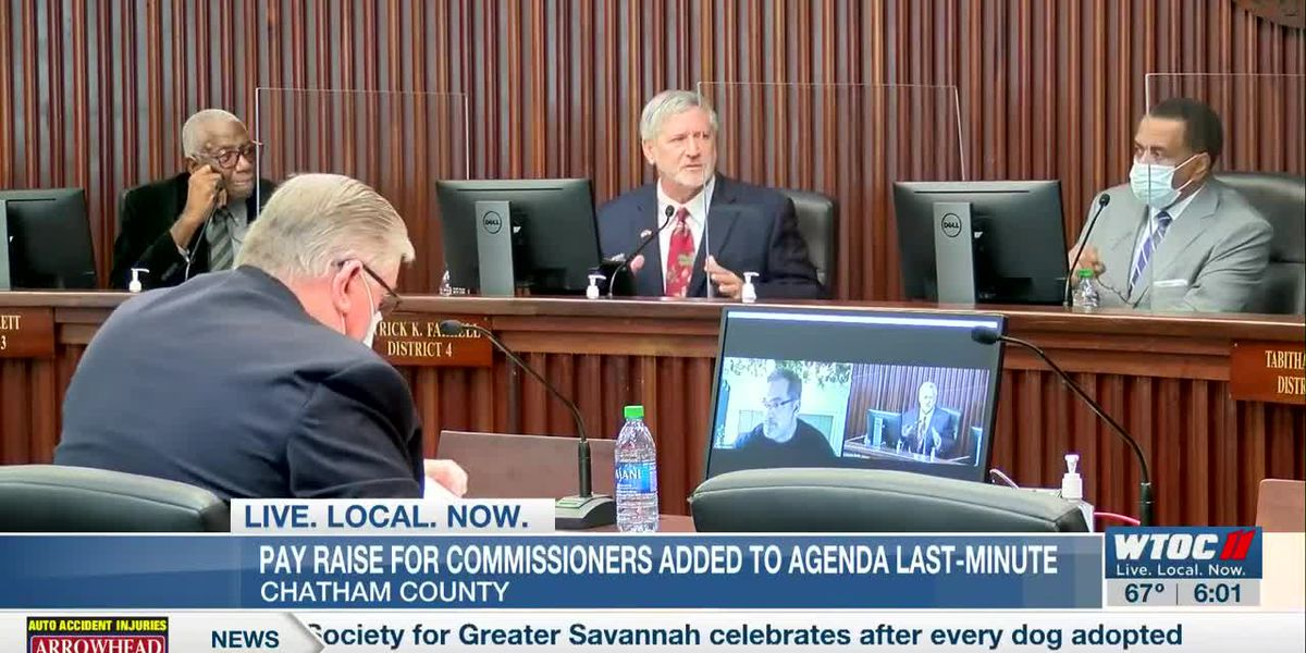 Chatham Co. Commission adds pay raise for commissioners to agenda at last minute