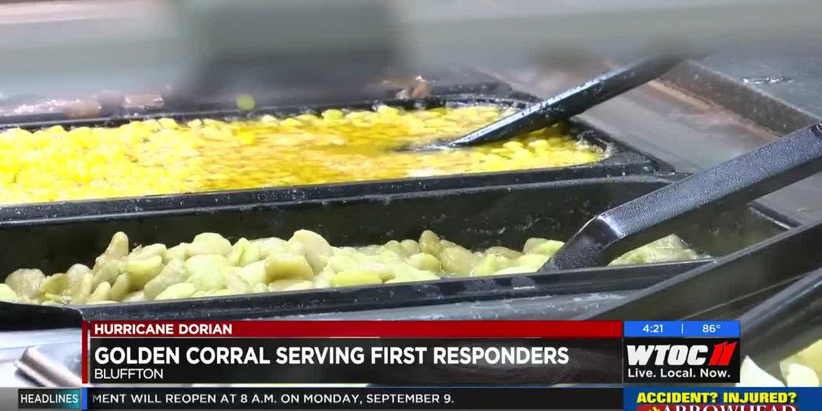 Golden Corral serving first responders in Bluffton