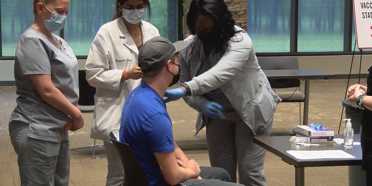 Ogeechee Tech holds first COVID-19 vaccine clinic