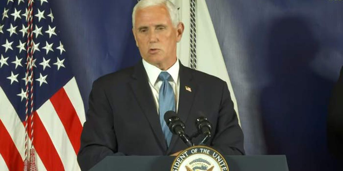 Exclusive interview: Pence stresses importance of wearing masks amid rising SC case numbers