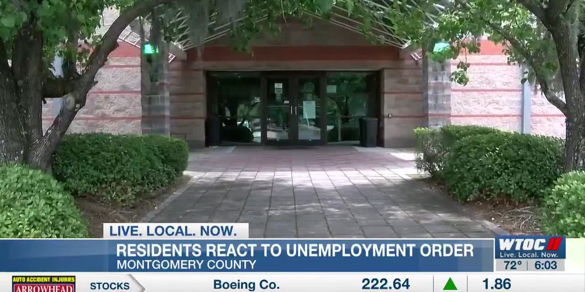 Montgomery Co. residents react to Gov. Kemp's new unemployment order