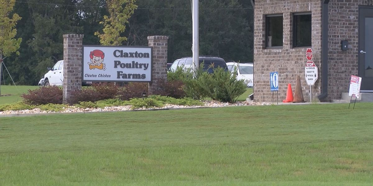 Claxton Poultry hiring 40 positions at Sylvania plant