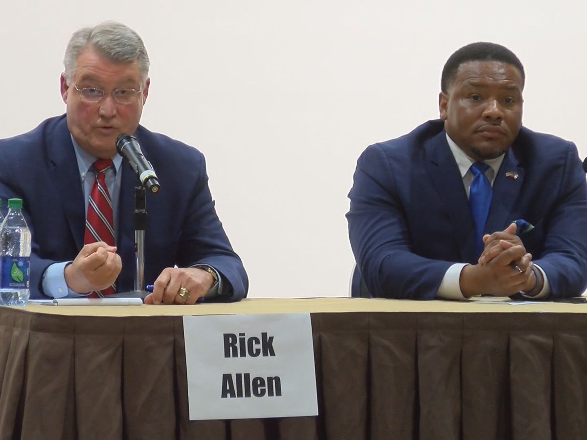 Ga 12th Congressional candidates face off at Statesboro forum