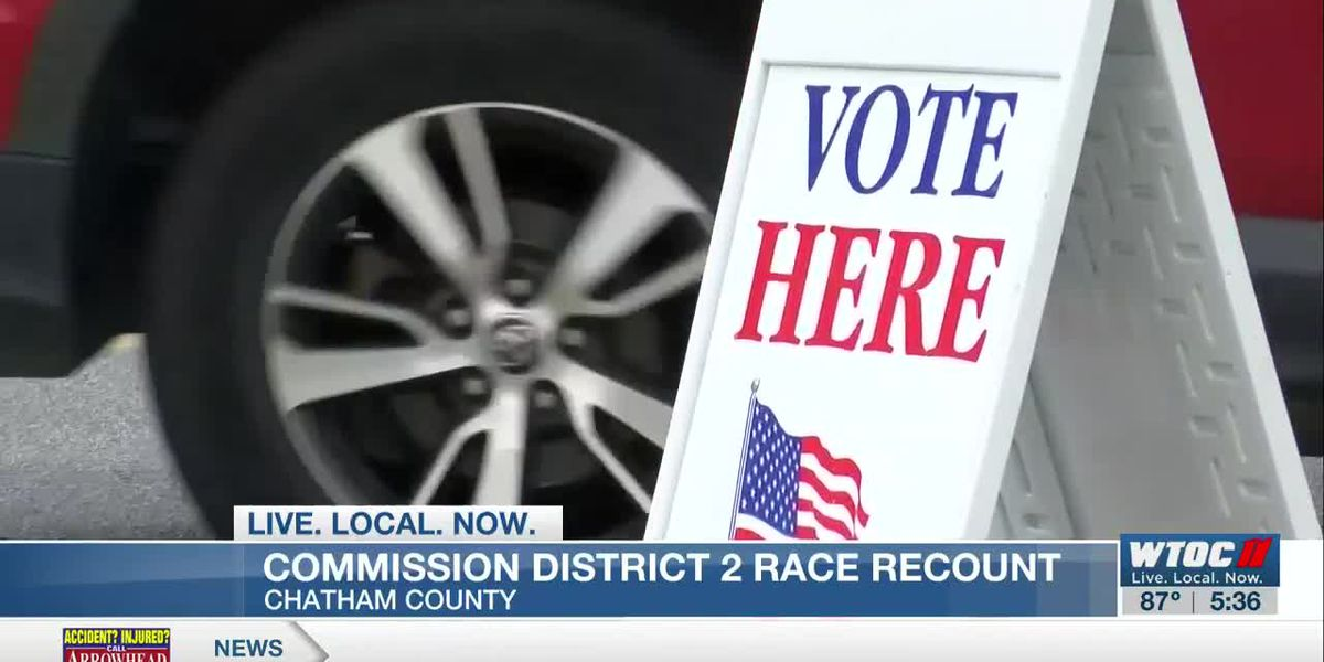Chatham County Commission District 2 candidate calls for recount