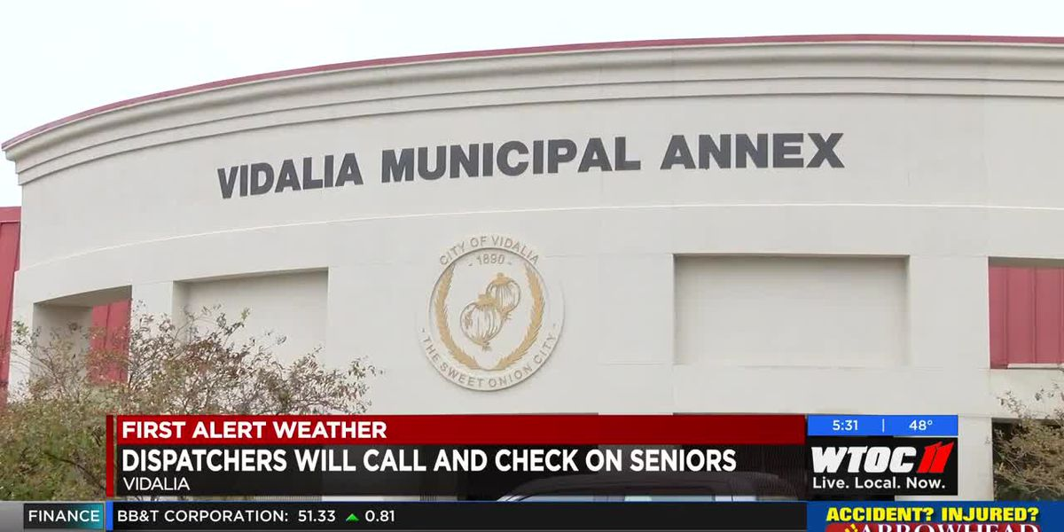 "City of Vidalia offers ""Are You Okay' program to help elderly"