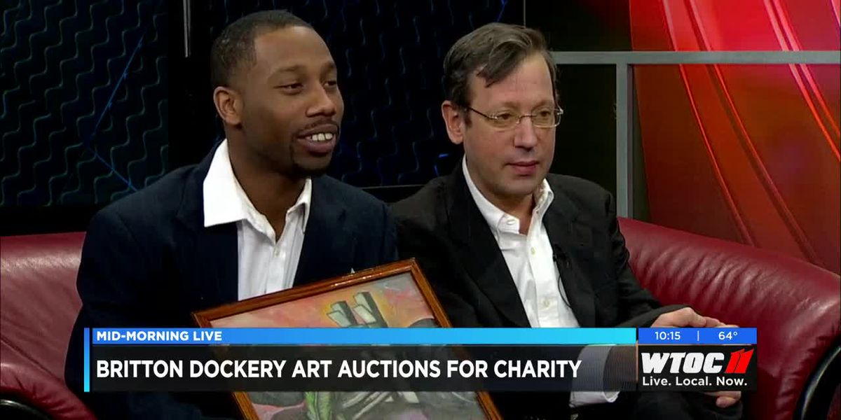 Britton Dockery Art Auctions for Charity