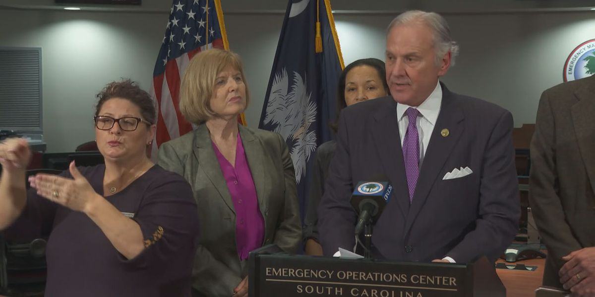 Governor requests South Carolinians to use common sense, not to hoard supplies