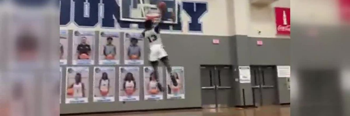 Cameryn Johnson GHSA Dunk Contest Entry