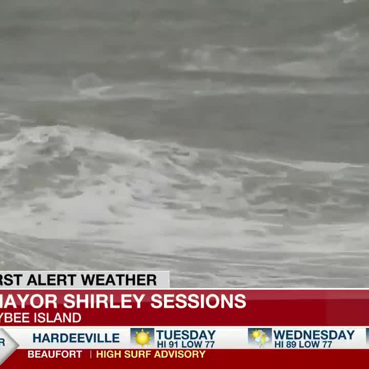 Surfers, visitors flock to Tybee Island as tide changes bring rough waters